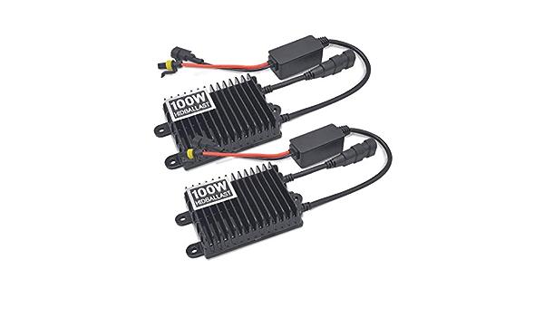 GOFORJUMP 2 Unids//Lote 12V Xenon 55W DC Bloques de lastre Digital Lastre electr/ónico para autom/óviles Kit HID H1 H3 H7 H4 H10 H11 880 9005 9006