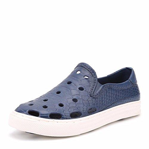 estate traspirante Uomini scarpa sandali Uomini Buco scarpa tendenza Spiaggia scarpa Uomini ,blu,US=8.5,UK=8,EU=42,CN=43