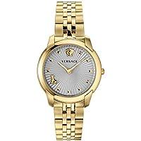 Versace VELR00719 Audrey Quartz Grey Dial Ladies Watch