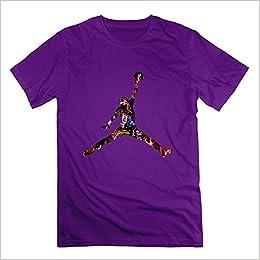htad Hombre Michael Jordan Espacio Jam Logo Camisetas Talla M , color morado: Amazon.es: Libros