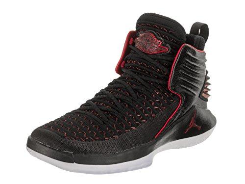 Jordan Nike Kids xxxii BG Black/University/Red Basketball Shoe 4 Kids US by Jordan