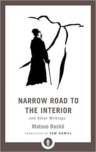 Narrow Road To The Interior Shambhala Pocket Library Idioma ...