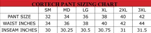 X-Large//Black Cortech GX Sport Pants