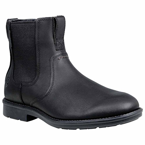 Timberland Men's Carter Notch PT Chelsea Boot, Black Full Grain, 7.5 M (Timberland Chelsea Boots)