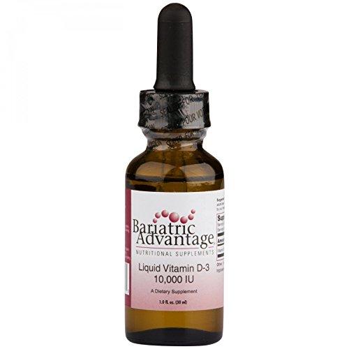 Bariatric Advantage - Liquid Vitamin D-3, 30 Count