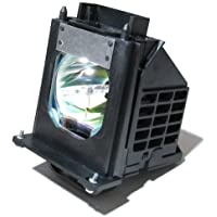 915P061010 - Lamp With Housing For Mitsubishi 915P061010, WD-65733, WD-57733, WD-65734, WD-73733, WD-65833, WD-73833, WD-57734, WD-73734, WD65733, WD-Y657, WD-57833, WD-C657, WD73733, WD65734, WD57733, WD73833, WD73734 TVs