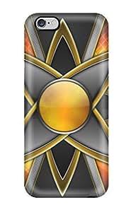 diy zhengFaddish Phone Orange Star Case For Ipod Touch 4 4th / Perfect YY-ONE