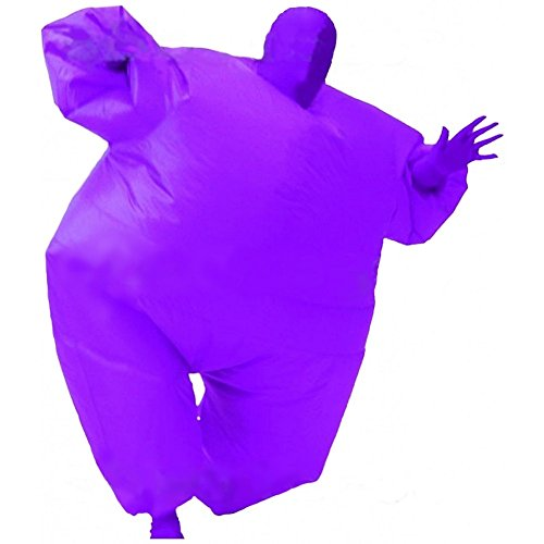 [Inflatable Fat Chub Body Skin Suit Fancy Blow-Up Costume Adult Jumpsuit Cosplay] (Big Fat Halloween Costumes)