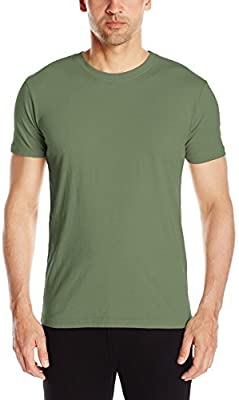 C-Life Group Mens Park Slope Pigment Dyed Jersey Crew Neck Tee Shirt