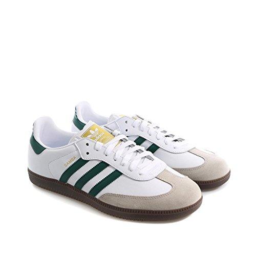 adidas Samba, Scarpe da Ginnastica Basse Unisex – Adulto Bianco (Ftwbla / Veruni / Gracla 000)