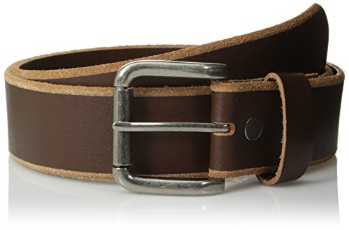 Bill Adler Men's Classic Jean Belt, Brown, 36