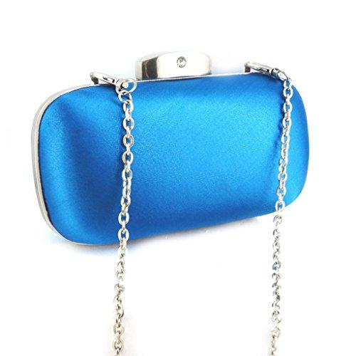 Les Trésors De Lily [M5494] - Sac Pochette 'Kate' bleu