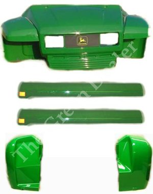 John Deere 6X4 Gator Plastic Replacement Kit 6X4KIT