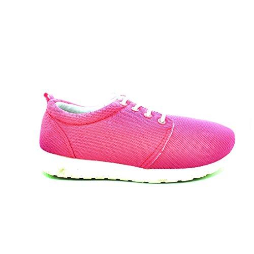 Zapato BASS3D combinado rosa
