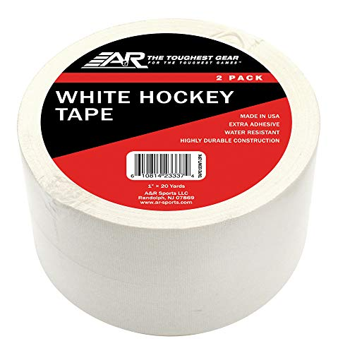 - A&R Sports White Hockey Tape - 2 Pack