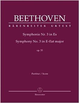 ベートーヴェン: 交響曲 第3番 変ホ長調 Op.55 「英雄」/デル・マール編/ベーレンライター社/指揮者用大型スコア