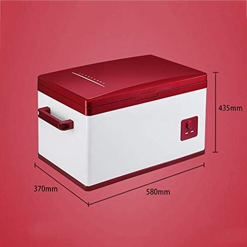 車の冷蔵庫、車と家庭の二重目的、ミニ冷蔵庫、アイスクリーム冷たい飲み物冷凍庫