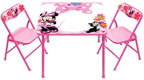 Minnie Mouse Happy Helpers Erasable Activity Table Set with 3 Dry Erase Markers]()