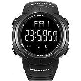 SMAEL Men's Sports Digital Watch Multifunction Electronic Quartz Waterproof Watch for Men