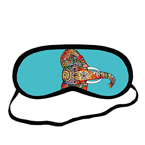 Creepypasta Costumes For Girls (Cotton For Sleeping Mask Individuality For Girls Have With Colorful Elephant Drawing 2)