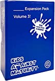 Kids Against Maturity Expansion Pack #3, Card Game for Kids and Families, Super Fun Hilarious for Family Party Game Night (Core Game Sold Separately)