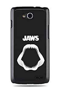 Lg Optimus L90 Case,Famous Super Jaws Sharksprotective Cover Case
