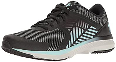 Under Armour Women's Micro G Press MM Training Shoes, Black/Glacier Gray, 7 B(M) US