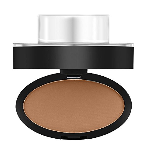 (Women Natural Eyebrow Powder Makeup Brow Stamp Palette Shadow Definition (Orange))