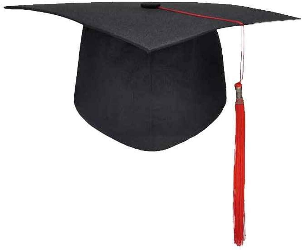 Gankmachine Graduación de Las borlas de la Universidad Cap Birrete Licenciatura Maestro Médico Académico Sombrero # 3