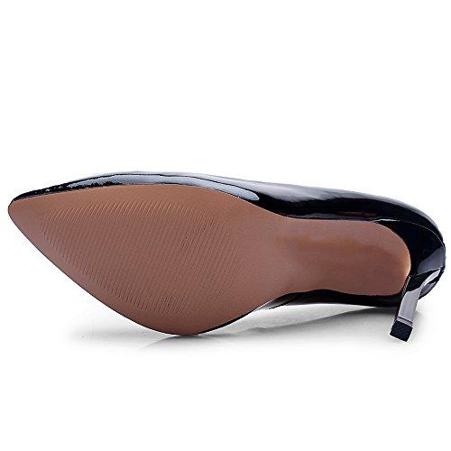 Kengät kiinnittimiä Naisten kantapää Minivog Metalli Korkea Stilettos Pumput t050fx6