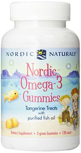 Nordic Naturals - Nordic oméga-3 Gummies (Tangerine) 3 120ct grammaire