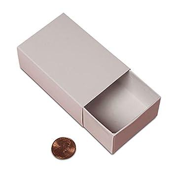 Amazon.com: Cartón 72ea – 4 x 4 x 2 Cuadro de 2 pieza Slide ...