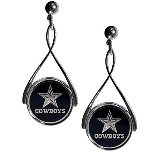 Logo Earrings Primary (Dallas Cowboys Tear Drop Earrings)