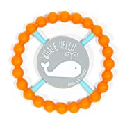 Bella Tunno Whale Hello Happy Teether, Orange