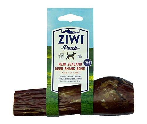 ZiwiPeak Deer Shank Dog Bone Treat, Half