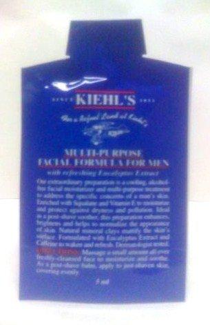 Multi purpose facial formula for men