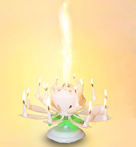 Easy Gift R The Amazing Happy Birthday Candle Romantic Musical