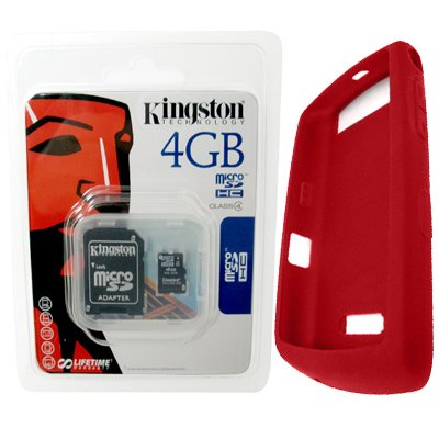 Kingston 4GB microSDHC Memory Card with SD Adapter (SDc4G...