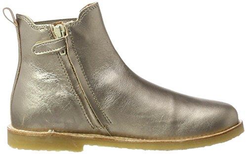 Kinder By Chelsea 927 Argenté Fille antique Silver Boots Melton Move pZTwqxSx