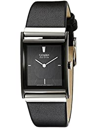 Citizen Men's BL6005-01E Eco-Drive Strap Black Dial Watch