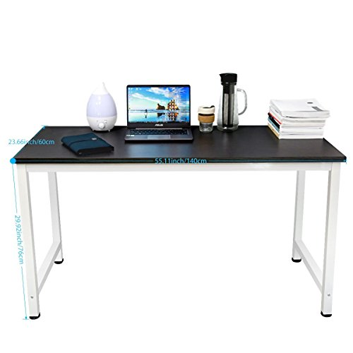 TOUCHXEL Computer Desk, Office Desk Computer Table Study Writing Desk for Home Office, Black by TOUCHXEL
