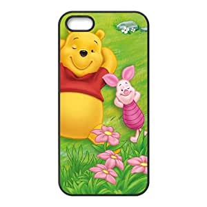 iPhone 4 4s Cell Phone Case Covers Black Many Adventures of Winnie the Pooh NTUHEPB05963 Fashion Phone Cases Plastic