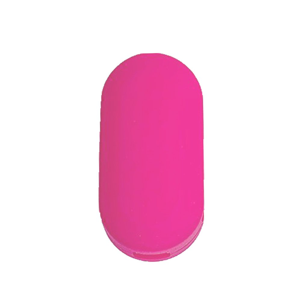 Nicky Pink Protective Cover for Fiat 3-Buttons Car Key Silicone Keys Protector