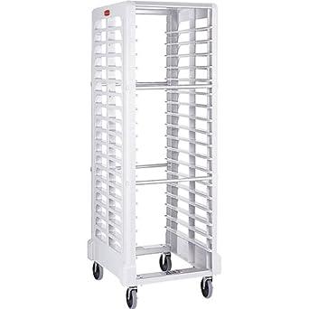 Amazon.com: Rubbermaid Commercial Proserve rack, 18 ranura ...