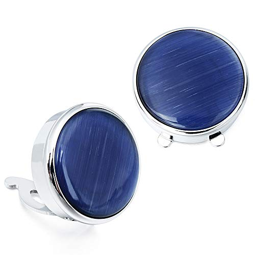 - HAWSON Stone Button Covers Cufflinks for Men Shirt - Best Gifts for Men