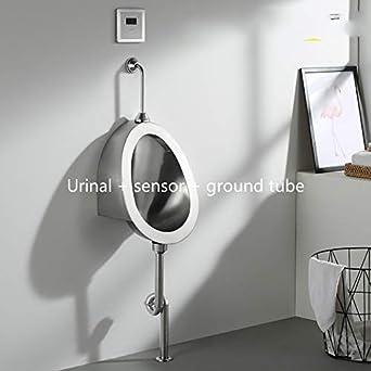 Amazon.com: Urinal para baño de acero inoxidable para hombre ...