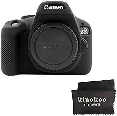 Kinokoo - Carcasa de Silicona para Canon EOS 3000D/4000D EOS Rebel ...
