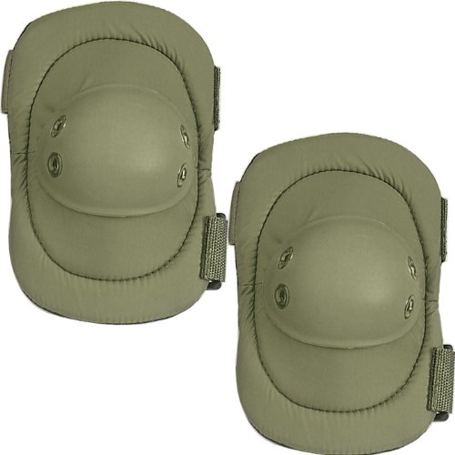 ULTRA FORCE MULTI-PURPOSE SWAT ELBOW PADS - Color: Olive Drab Survival