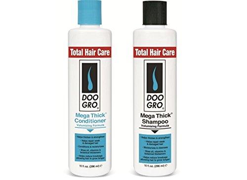 Doo Gro Mega Thick Volumizing Shampoo and Conditioner Duo Pack 300 milimeter (Gro Shampoo Do)