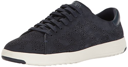 Cole Haan Women Grandpro Paisley Perforated Fashion Sneaker Marine Blue